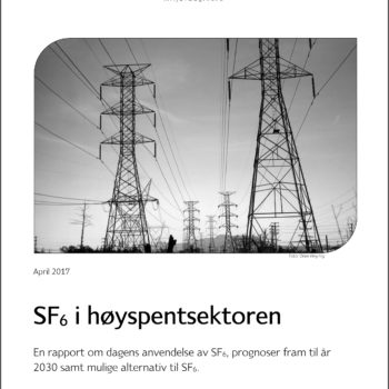 SF6 I Høyspentsektoren