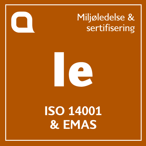 ISO 14001 & EMAS
