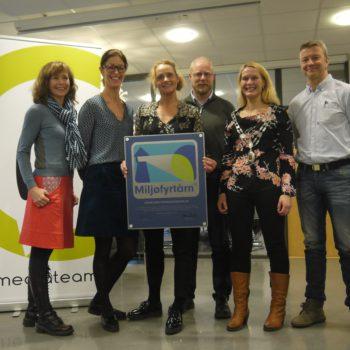 Mediateam Blir Miljøfyrtårn