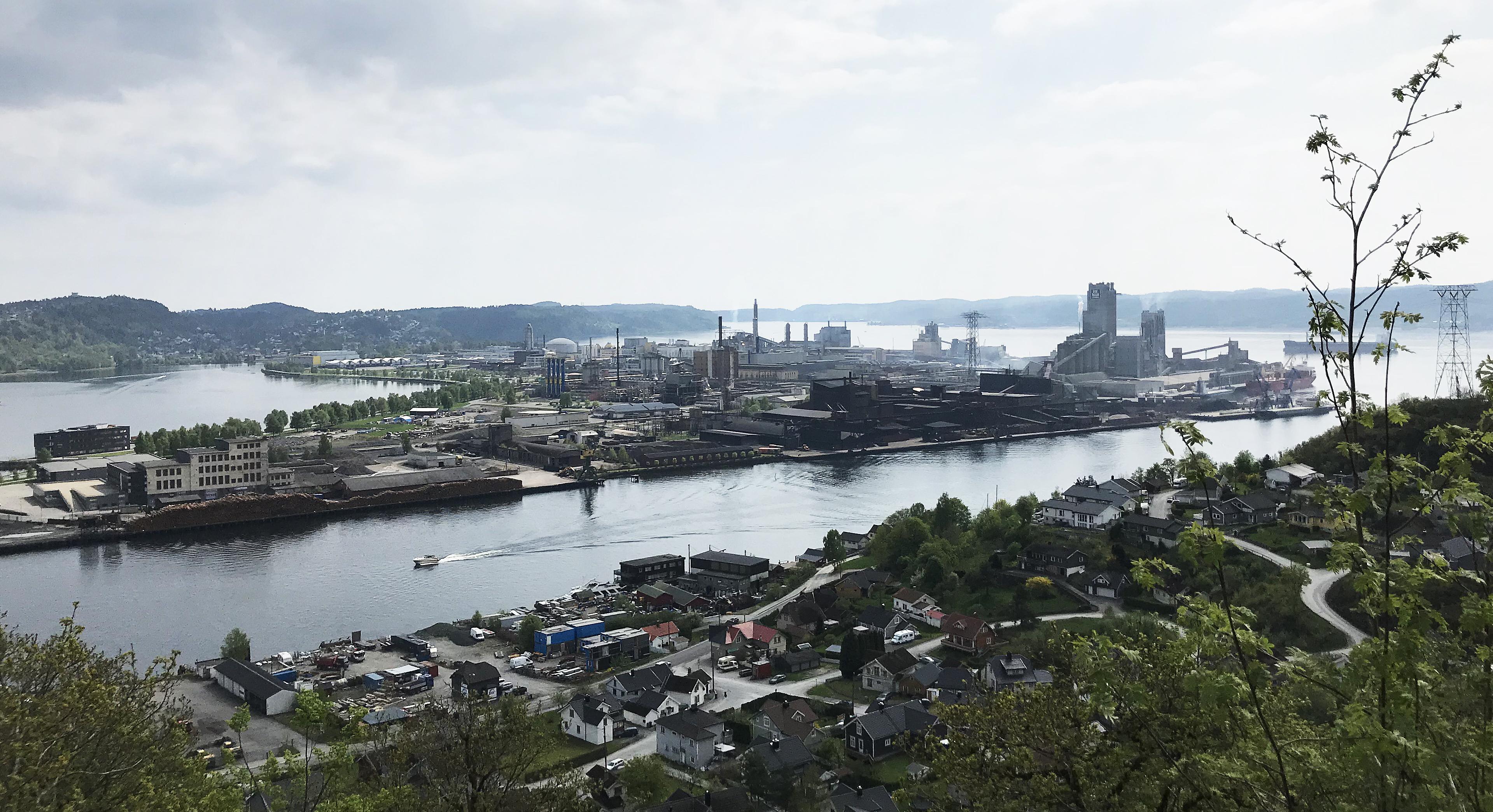 Herøya Industripark Oversikt2
